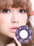 [芭比爱]米欧米七彩钻石紫(平面展开直径17.5mm)(近效期商品,有效期到2019年11月.特价商品不售后,介意者慎拍!)