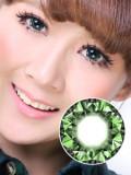 [芭比爱]米欧米七彩钻石绿(平面展开直径17.5mm)