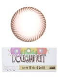 izcon(伊厶康)甜甜圈系列巧克力月抛型彩色隐形眼镜