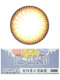 izcon(伊厶康)冰淇淋双色棕半年抛彩色隐形眼镜
