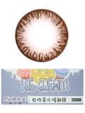 izcon(伊厶康)冰淇淋巧克力半年抛彩色隐形眼镜