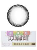 izcon(伊厶康)甜甜圈系列黑色月抛型彩色隐形眼镜