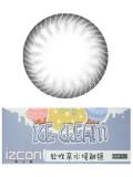izcon(伊厶康)冰淇淋双色灰半年抛彩色隐形眼镜