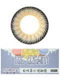 izcon(伊厶康)冰淇淋三色灰半年抛彩色隐形眼镜