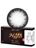 大美目精灵深邃黑彩色隐形眼镜-平铺直径15.5mm