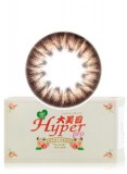 【新品】大美目月抛琥珀彩色隐形眼镜-平铺直径15.0mm