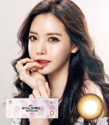 WITHSOME香草巧克力彩色隐形眼镜위드썸 브라운 (1day/20p)-韩国OLENS直购