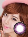 G&G西武流行炫彩紫F04彩色隐形眼镜