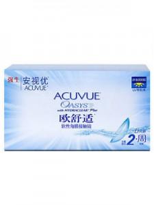 强生Acuvue欧舒适两周抛硅水凝胶6片装
