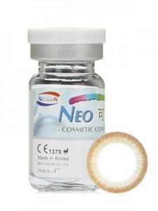 NEO可视眸自然目小棕环彩色隐形眼镜 - N244