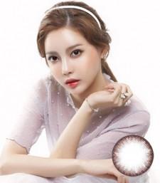 Neutral素清巧克力硅水凝胶美瞳(뉴트럴 초코)-韩国OLENS直购