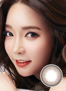 Neo Daisy自然棕N244彩色隐形眼镜2p装-韩国原厂进口