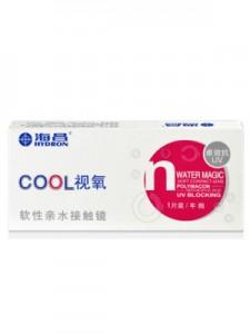 海昌COOL视氧卓效抗UV隐形眼镜年抛1片装