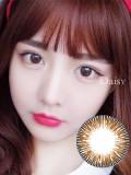 Neo Daisy甜丝棕彩色隐形眼镜2p装-韩国原厂进口