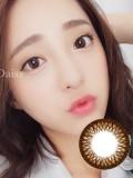 Neo Daisy丝芬棕NC974彩色隐形眼镜2p装-韩国原厂进口
