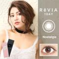 ReVIA蕾美日抛彩色隐形眼镜10片装Nostalgia洛亚丽棕