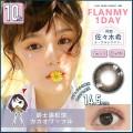 FLANMY日抛彩色隐形眼镜10片装爵士黑松饼