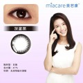 Miacare美若康绽美硅水凝胶彩色隐形眼镜日抛10片装黑色