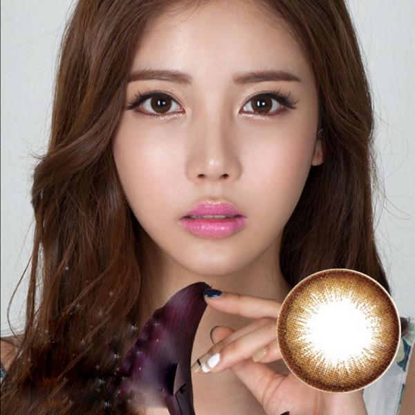 DreamColor玳瑁棕(Danbie Brown, 단비 브라운)-韩国原装进口