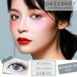 DAZZSHOP混血系列BLENDED 年抛彩色隐形眼镜1片装B02 灰色