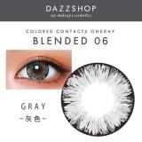 DAZZSHOP混血系列BLENDED 年抛彩色隐形眼镜1片装B06 灰色