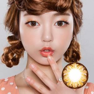 【新品】GEO HoliCat荷丽猫彩色隐形眼镜CutieCat-平铺直径14.50mm