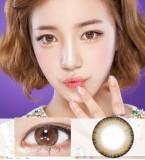 DreamColor阿黛尔双色棕彩色散光隐形眼镜-韩国原装进口(AidaBrown,아이다브라운)