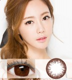DreamColor花瓣自然棕彩色散光隐形眼镜-韩国原装进口(Envy Choco 엔비 초코)