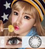 DreamColor花瓣魅惑灰彩色散光隐形眼镜-韩国原装进口(SoonyGray,수니그레이)