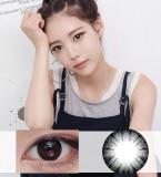 DreamColor纯色自然黑彩色散光隐形眼镜-韩国原装进口(PureBlack,퓨어블랙)