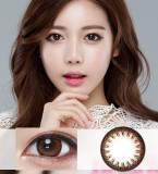 DreamColor火花闪烁棕彩色散光隐形眼镜-韩国原装进口(SparkBrown,스파크브라운)